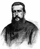 Paul Soleillet vintage engraved illustration. Journal des Voyage Travel Journal (1880-81). poster