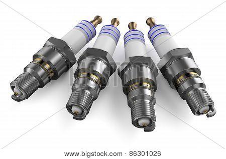 Set Of Sparkplugs