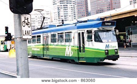 Unique Melbourne Tram