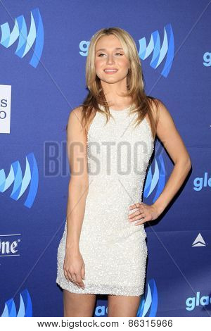 LOS ANGELES - MAR 21:  Rita Volk at the 26th Annual GLAAD Media Awards at the Beverly Hilton Hotel on March 21, 2015 in Beverly Hills, CA