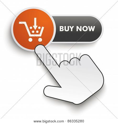 Buy Now Button Hand Cursor