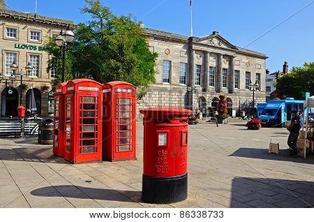 The Market Square, Stafford.