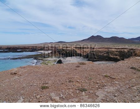 Jandia nature park on Fuerteventura