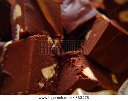 Macro Shot Fudge