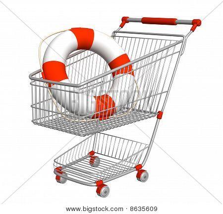 Lifebuoy en carro de compras