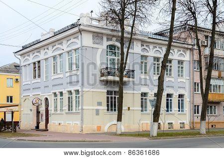 Project Of Architect S.d.shabunevsky. Building On Corner Of Biletskiy And Bauman, Gomel