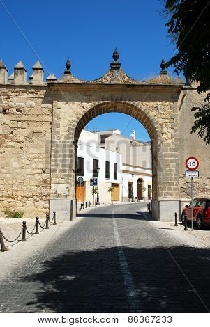 Town arch, Jerez de la Frontera.