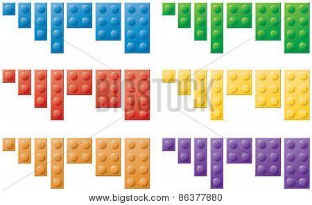 Plastic Locking Blocks