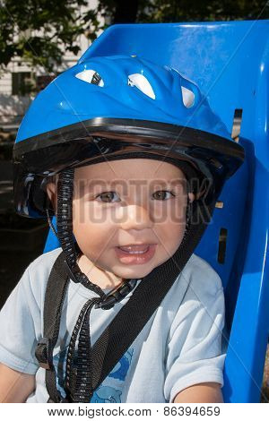 Safety Helmet And Bicycle Seat For Kid