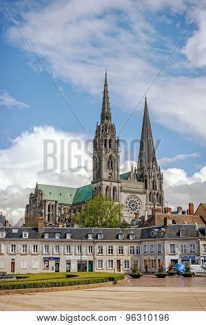 Cathedral Our Lady Of Chartres, France