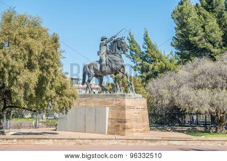 Statue Of General Cr De Wet