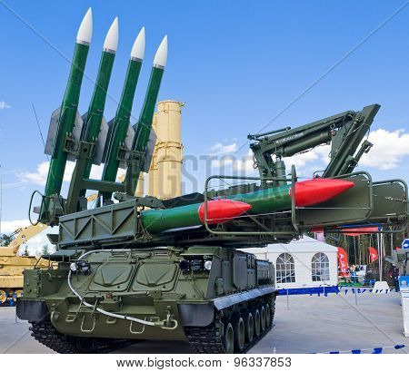 Self-propelled anti-aircraft missile systems