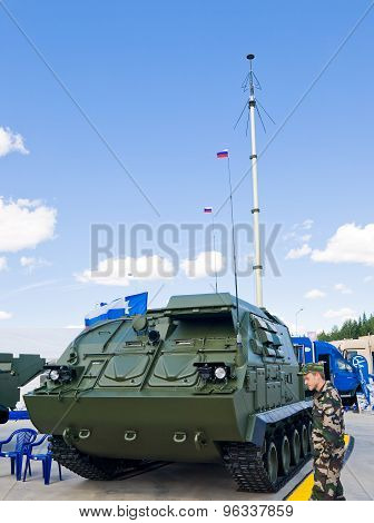 The command post 9S470M1-2 of anti-aircraft missile systems