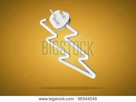Electricity Cable And Plug Makes Electrical Logo Icon