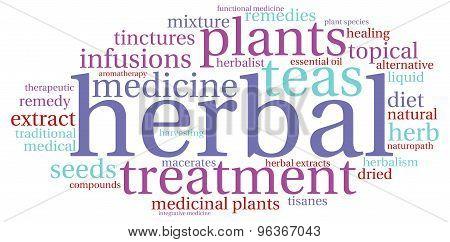 Herbal Word Cloud