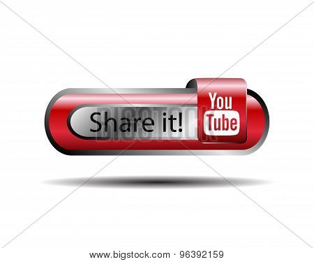 Share it youtube online button