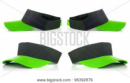 Green Tennis Cap