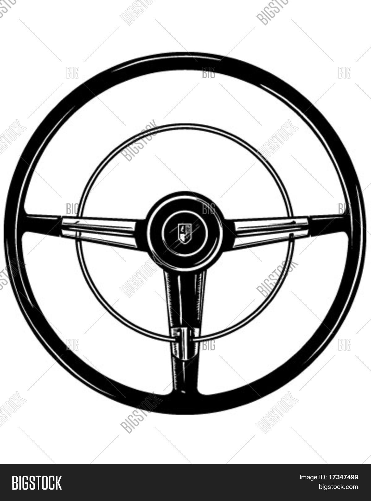 retro steering wheel vector photo free trial bigstock rh bigstockphoto com car steering wheel clip art boat steering wheel clip art