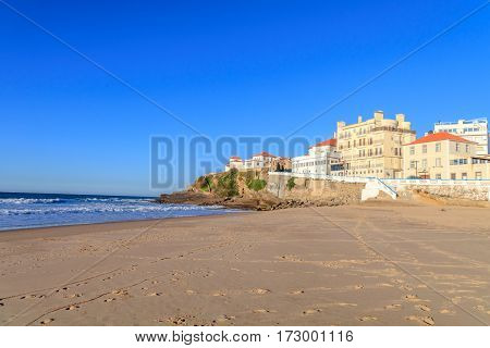 Beach of the Apples in Sintra Portugal