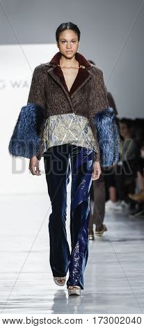 New York Fashion Week Fw 2017 - Son Jung Wan Collection