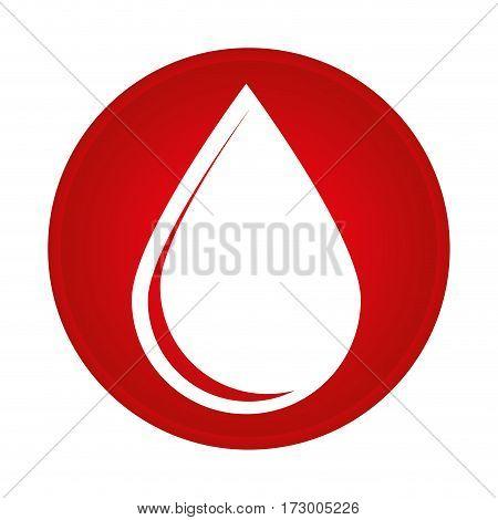 blood drop donation icon vector illustration design