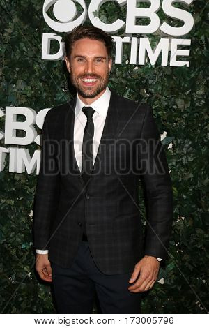 LOS ANGELES - OCT 10:  James O'Halloran at the CBS Daytime #1 for 30 Years Exhibit Reception at the Paley Center For Media on October 10, 2016 in Beverly Hills, CA