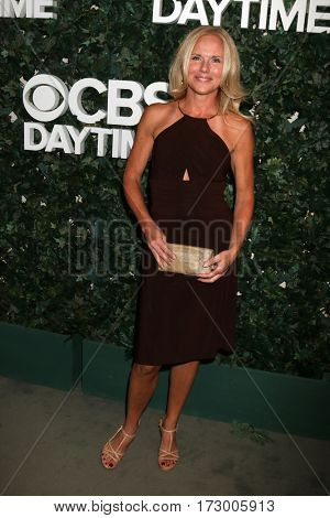 LOS ANGELES - OCT 10:  Beth Chamberlin at the CBS Daytime #1 for 30 Years Exhibit Reception at the Paley Center For Media on October 10, 2016 in Beverly Hills, CA
