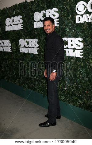 LOS ANGELES - OCT 10:  Don Diamont at the CBS Daytime #1 for 30 Years Exhibit Reception at the Paley Center For Media on October 10, 2016 in Beverly Hills, CA