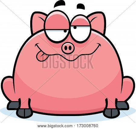 Drunk Little Pig