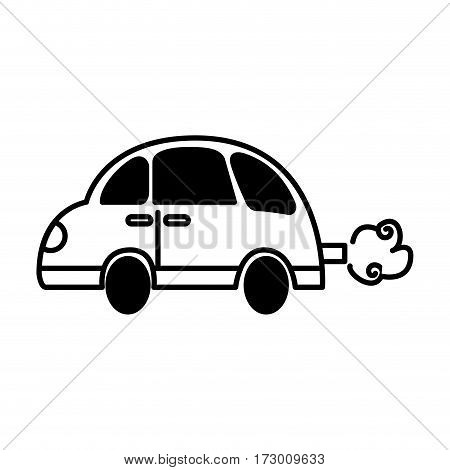 car toy isolated icon vector illustration design