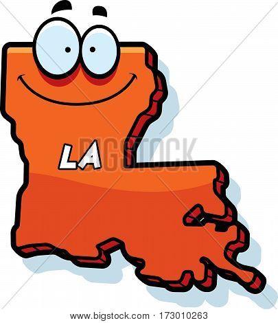 Cartoon Louisiana