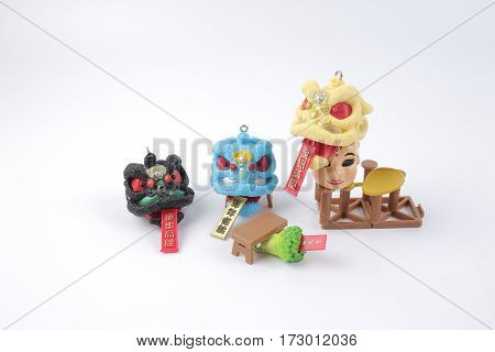 The Small Toys Of Lion Dance