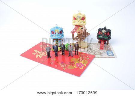 At Lunar New Year Meeting