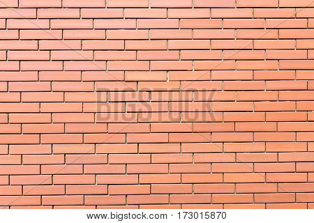 The red brick wall texture background. Texture of red brick wall at the building