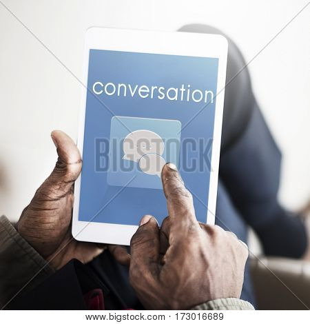 Conversation Message Communication Discussion Word