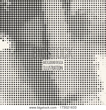 Black and White Grunge Effect. Overlay Distress Dirty Grain. Monochrome Vector Texture