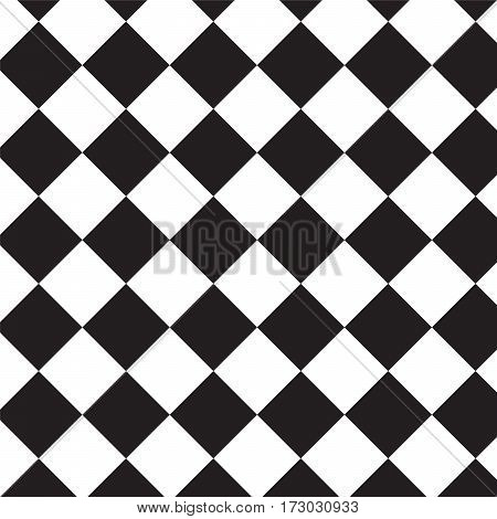 crosswise black squares pattern background vector illustration image