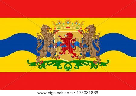 Flag of Overijssel or Overissel is a province of the Netherlands in the central-eastern part of the country