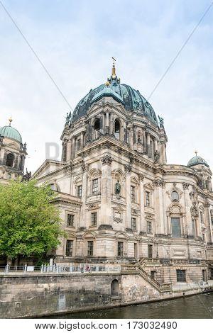Traditional view of Berliner Dom in Berlin