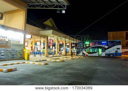 New Terminal Of Chiangmai Bus Station.