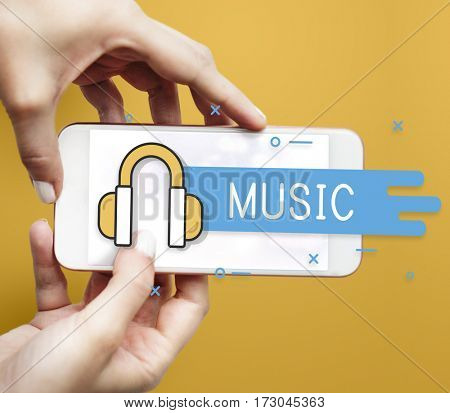Music Streaming Sound Media Entertainment