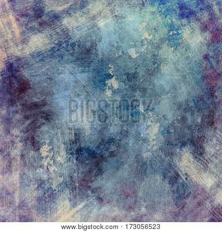 Abstract multicolored painted background with spots stains and splashes