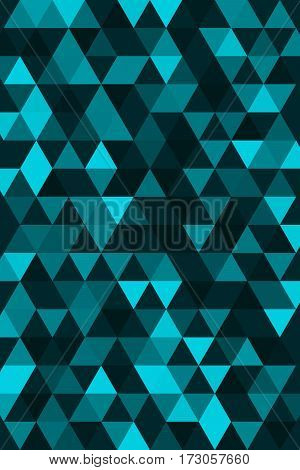 Triangular background. Cover mate flyers brochures. Vector illustration.