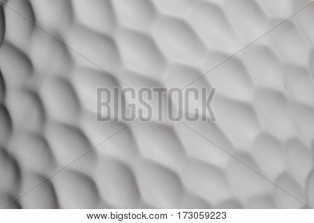 design convex ceramic textured pattern. abstract monochrome background
