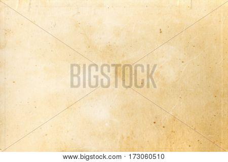 Background of vintage light brown old paper