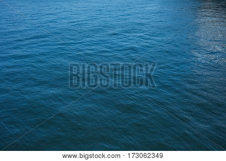 View of beautiful seascape