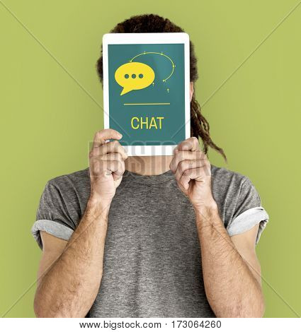 Chat Bubble Message Network Icon