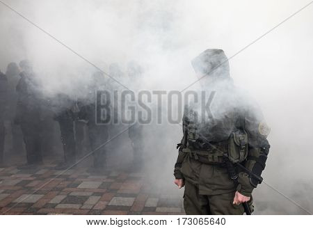March Of National Dignity In Kiev, Ukraine