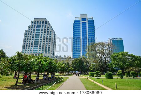 Office Buildings In Yangon, Myanmar