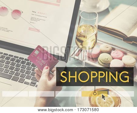 Purchasing Shopping Buying Selling Online